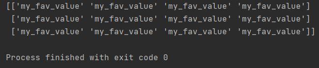 fill value array numpy
