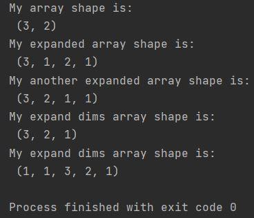 Numpy ways to expand arrays Python